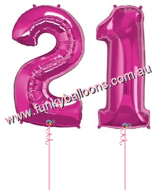 21 Megaloon Numbers Choice Of Colours