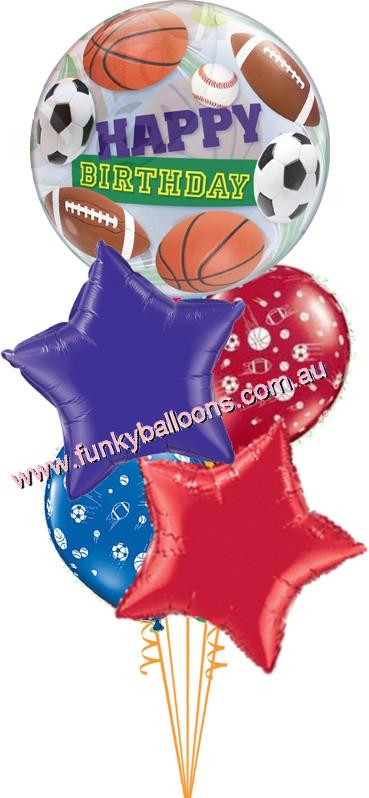 Birthday Sports Balls Bouquet