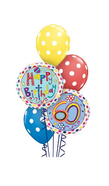 Rachel Ellen Designs Happy 60th Bouquet